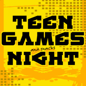 Teen Games Night Tile