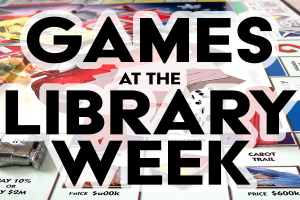 Games at the Library Week Tile