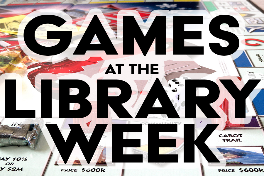 Games at the Library Week
