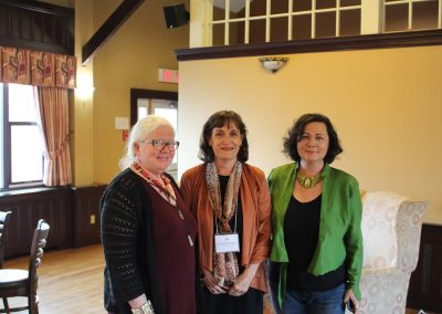 Angela Reynolds, Ann-Marie Mathieu, and Ami McKay