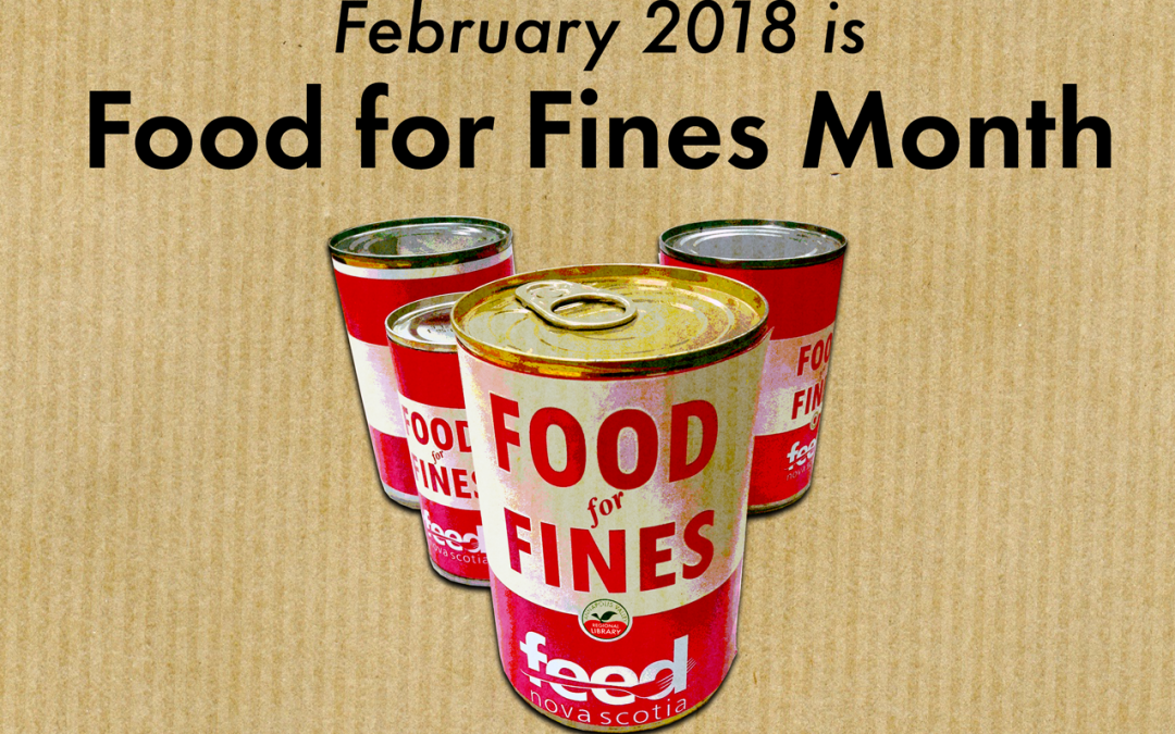 Food for Fines in February