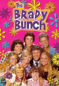 Brady Bunch DVD cover people in a group