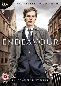 Endeavour DVD cover man standing by building