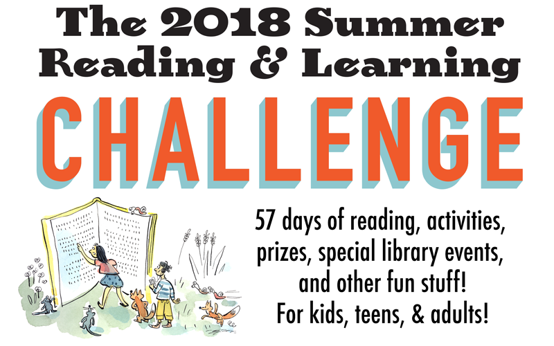 Summer Reading Challenge is coming soon!