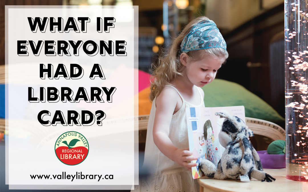What if everyone had a library card?