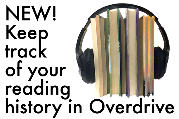 Reading History feature is now live on our OverDrive site