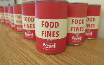 February 2020 is Food For Fines Month